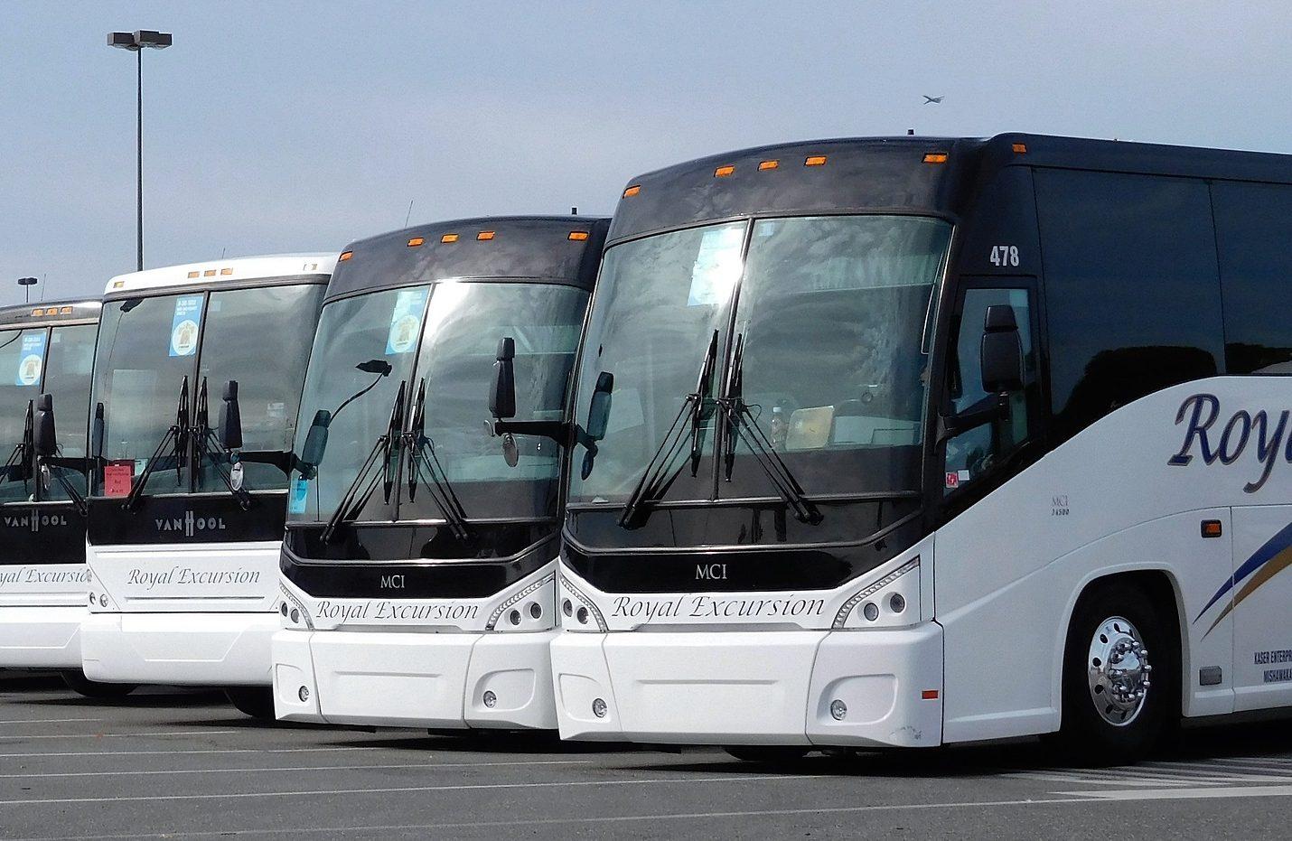 Busse in Nordspanien