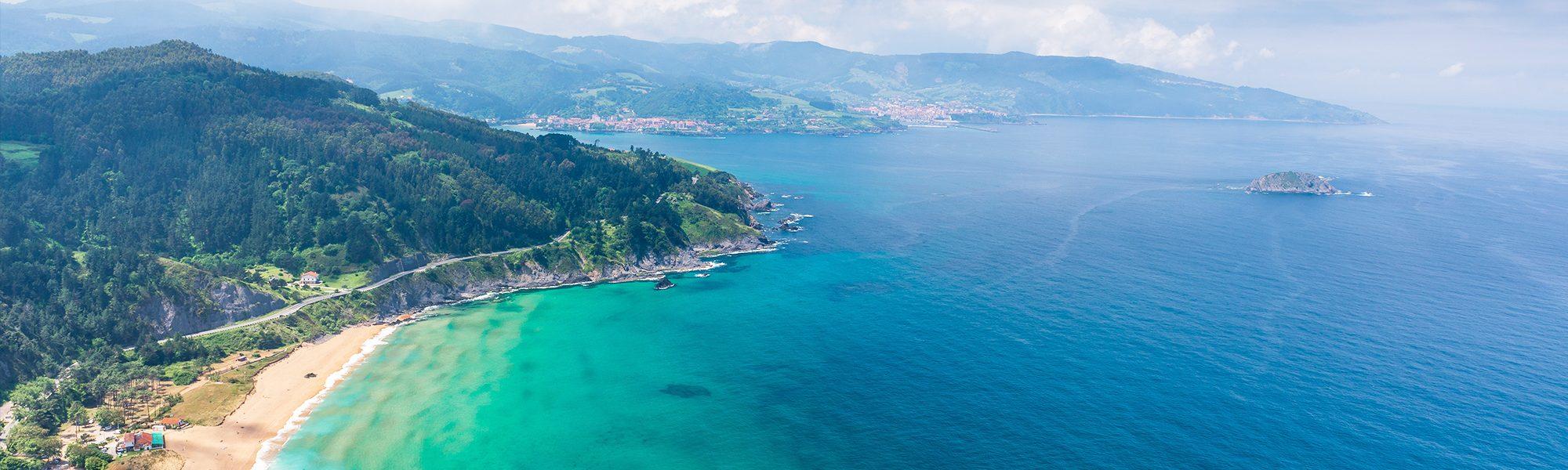 Nordspanien Erkunden Wunderschöne Küsten